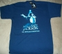 Michael Jackson: The Exhibition London Navy Blue T-Shirt (UK)