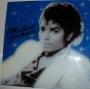 "Michael Jackson ""Thriller"" (LP Cover Artwork) Bootleg Glass Pane (USA)"