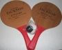 Michael Jackson HIStory Album Promo Ping Pong Paddle Set (Europe)