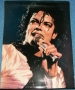 "Michael Jackson ""1987 Live"" Wall Hanging/Poster *Unofficial* (Spain)"