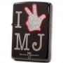 Michael Jackson Zippo Limited Edition Official Lighter Model B *I Love MJ* (Japan)