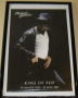 "Michael Jackson 2009 ""King of Pop"" (Billie Jean Live) Commercial Poster *24""x36"" Standard Size* (UK)"