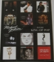 "Michael Jackson 2009 ''Album Covers'' Official Commercial Poster *16""x20"" Mini Size* (UK)"