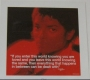 "Michael Jackson ""Loved"" Official 16""x16"" Commercial Print *iQuote*  (UK)"