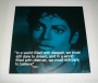 "Michael Jackson ""Believe"" Official 16""x16"" Commercial Print *iQuote* (UK)"