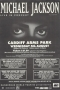 Michael Jackson Live In Concert  Cardiff Arms Park Promo Handbill (UK)