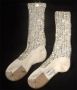 Michael Jackson Crystal Socks By Bill Whitten From Victory Tour (1984)