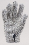 Michael Jackson Worn White Swarovski Glove (1983)