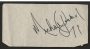 Michael Jackson Signed Piece Of Paper (1974)