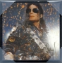 "Michael Jackson Bravado Plaque/Wall Art  8"" x  8"" - 'Jam Live' #611 (USA)"