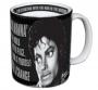Michael Jackson Official 'Man In The Mirror' Mug (UK)