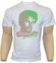 Michael Jackson 'Retro Style Face' Official White T-Shirt (UK)