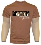 Michael Jackson 'Sepia Collage' Official Sepia T-Shirt (UK)