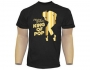 Michael Jackson 'King Of Pop' Official Black T-Shirt (UK)