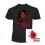 Michael Jackson 'Thriller' Official Black T-Shirt (UK)