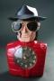 Michael Jackson Red Alarm Clock W/ Music (USA)