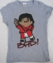 Michael Jackson Weenicons Official Gray T-Shirt *BAD* Model (UK)