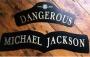 Dangerous Album Promo Letters Display (UK)