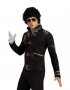 Michael Jackson Official *BAD* Black Buckle Adult Jacket (USA)