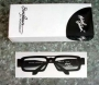 Michael Jackson Official Square Eye Glasses By Monogram *Black* (Japan)