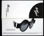 Michael Jackson Official Round Eye Glasses By Monogram *Black* (Japan)