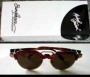 Michael Jackson Official Round Eye Glasses By Monogram *Red* (Japan)