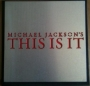 "Michael Jackson's ""This Is It"" Red Carpet World Premiere Metal Invitation (2009)"