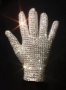 Michael Jackson Worn White Swarovski Glove *From BAD Tour* (1987-88)