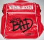 """Who's Bad"" Official Red Vinyl Bag (UK)"