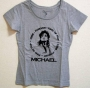 Michael Jackson 'Gallery At Ponte 16' Official Gray T-Shirt (Macao)