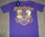 "Michael Jackson ""Gold Lion"" Purple Bravado T-Shirt (UK)"