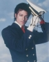 Michael Jackson Sailor Suit Photo Signed By Michael (1984)