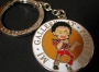 Michael Jackson 'Gallery At Ponte 16' Official 'Thriller' Yellow Enamel Keyring (Macao)