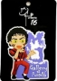 Michael Jackson 'MJ Gallery At Ponte 16' 'Thriller' Purple PVC Magnet (Macao)