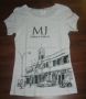 Michael Jackson 'Gallery At Ponte 16' Official White T-shirt (Macao)