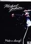 Michael Jackson Official Pigna *BJ Live - Make A Change* A4 Black Plastic Book Sleeve (Romania)