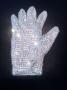 Michael Jackson Worn White Swarovski Crystal Glove (USA)