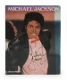 Michael Jackson By Stewart Regan Signed Hard Cover Book *Signed Twice* (1983)