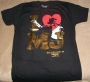 "Michael Jackson THE IMMORTAL World Tour ""I (Heart) MJ"" Black Unisex T-Shirt (USA/Canada)"