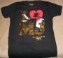 "Michael Jackson THE IMMORTAL World Tour ""I (Heart) MJ"" Black Unisex T-Shirt (USA/Canada)"