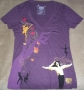 Michael Jackson THE IMMORTAL World Tour Purple Women's T-Shirt (USA/Canada)