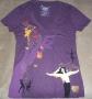 Michael Jackson THE IMMORTAL World Tour Purple Women's T-Shirt (USA/Canada)