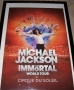 Michael Jackson Immortal World Tour Cirque Du Soleil Commercial Poster (Canada)