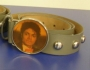 "Michael Jackson Official MJ ""Billie Jean Video"" Gray Leather Belt (USA)"