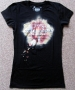Michael Jackson THE IMMORTAL World Tour Black Women's T-Shirt (Europe)