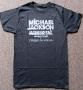 Michael Jackson THE IMMORTAL World Tour Grey Men's T-Shirt (Europe)