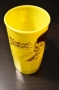 Michael Jackson 'Thriller' Unofficial Yellow Plastic Cup (USA)