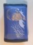 "Michael Jackson ""Thriller"" (LP Cover) Bootleg Nylon Wallet *Blue* (USA)"
