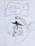 "Michael Jackson Drawing ""Hildebrant Cards"""