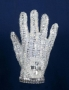 "Michael Jackson White Crystal ""Fantasy Glove"" (1984)"